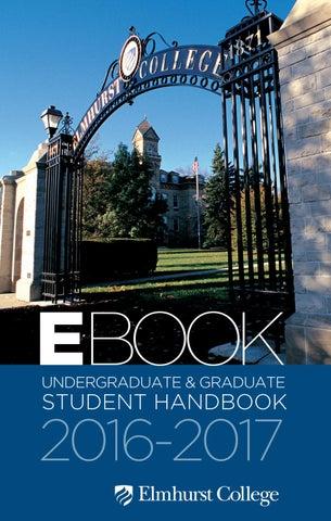 Elmhurst College E Book 2016 2017 By Elmhurst College   Issuu