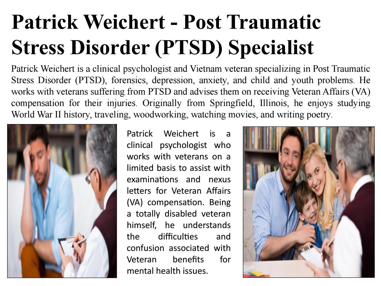 Patrick Weichert - Post Traumatic Stress Disorder (PTSD