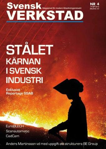 Svensk Verkstad nr.4 2016