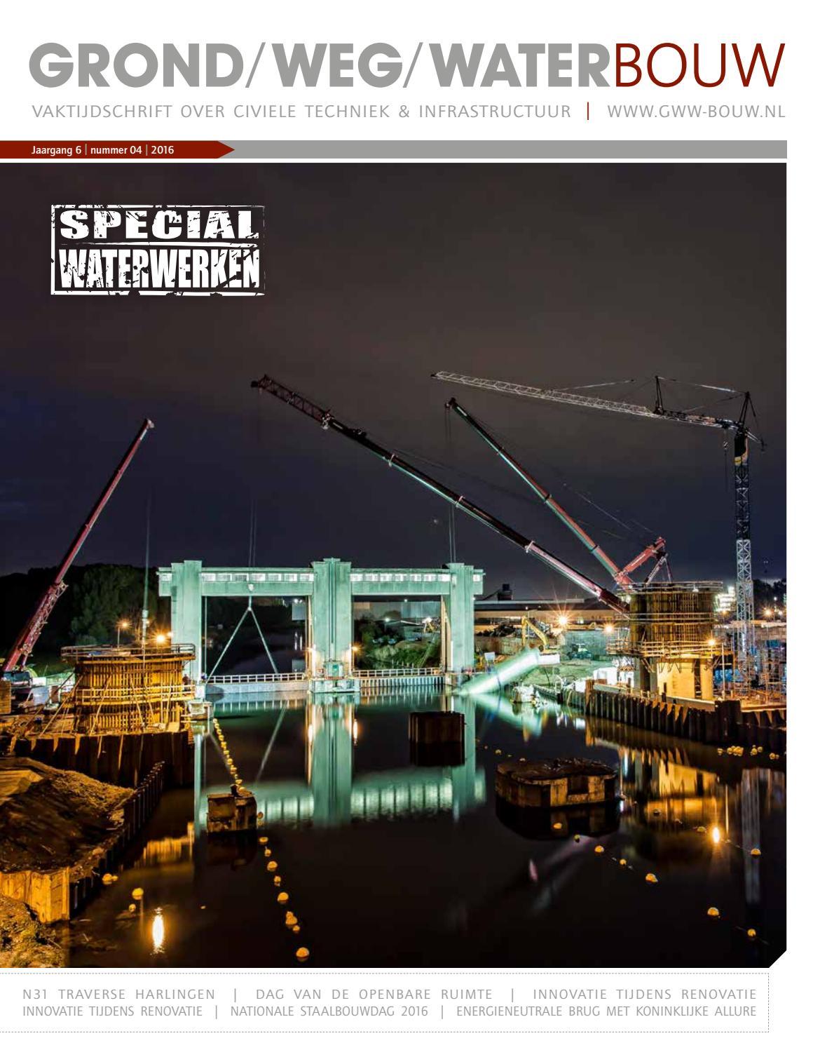 Grond weg waterbouw nl 04 2016 by Louwers Uitgeversorganisatie BV - issuu