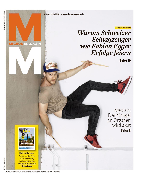 Migros magazin 38 2016 d vs by Migros-Genossenschafts-Bund - issuu