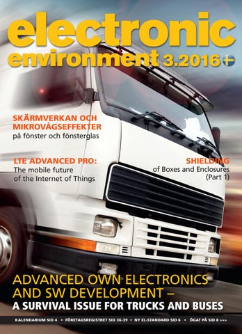 Electronic Environment 3 2016 by Break a Story Communication AB - issuu 1106bd74a7a1c