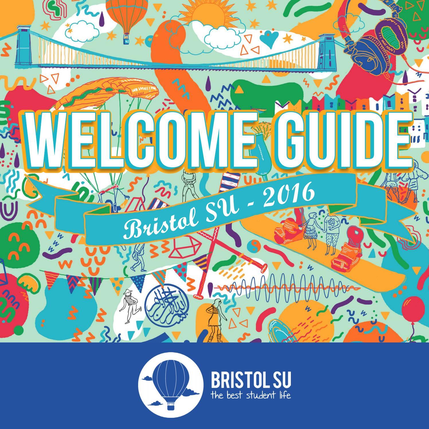 Welcome Guide 10   Bristol SU by Bristol SU   issuu