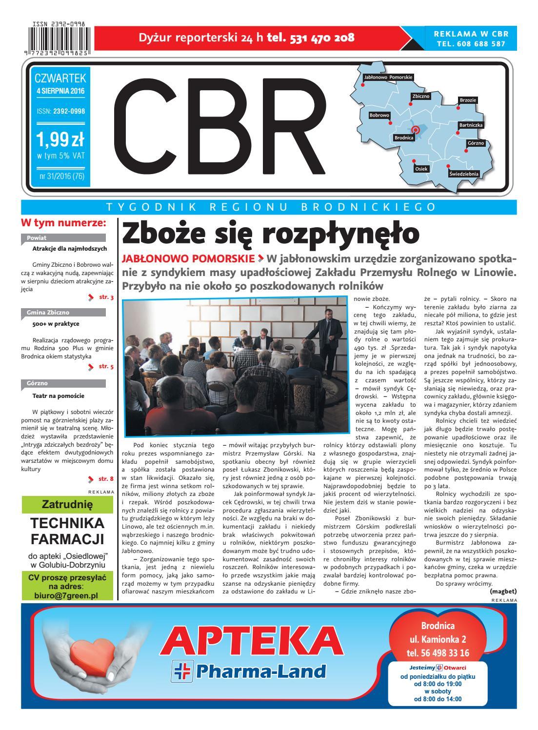 Cbr Nr 76 By Brodnica Cbrpl Issuu