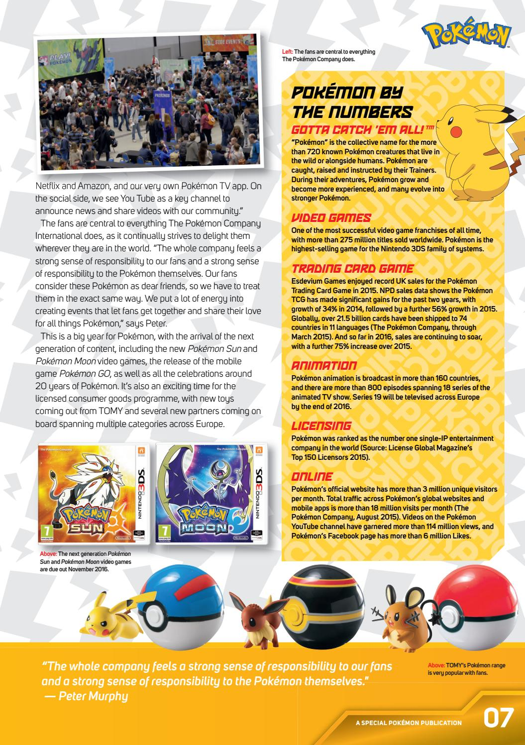 Pokemon Special Publication by Licensing Source Book Europe