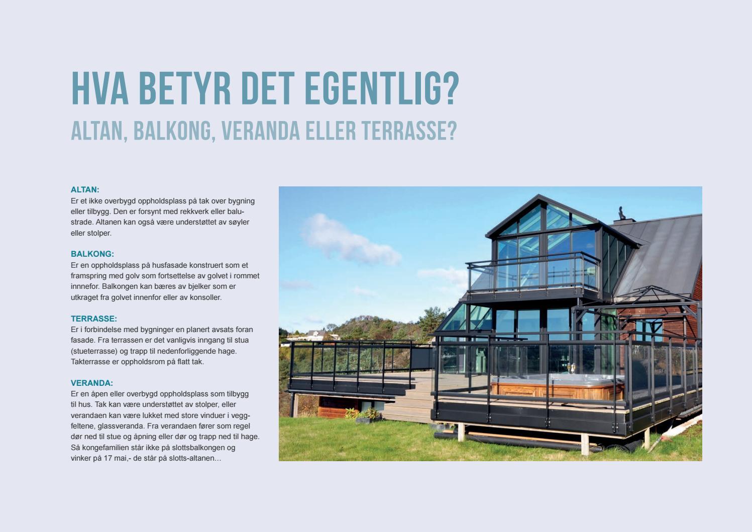 Terrassen Veranda verandakatalogen 2016 by molvik issuu
