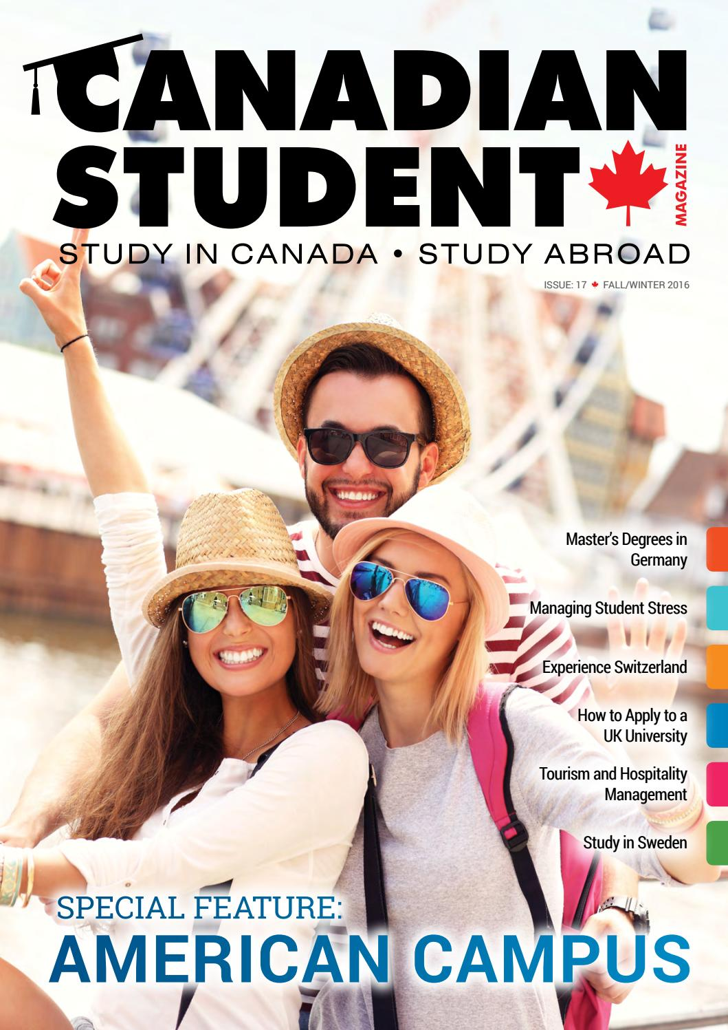 5e25843445e Canadian Student Magazine    Issue 17 by Ender Birer - issuu