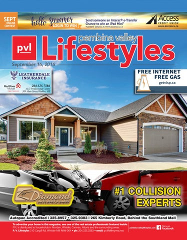 Lifestyles - September 16, 2016 by Pembina Valley Lifestyles
