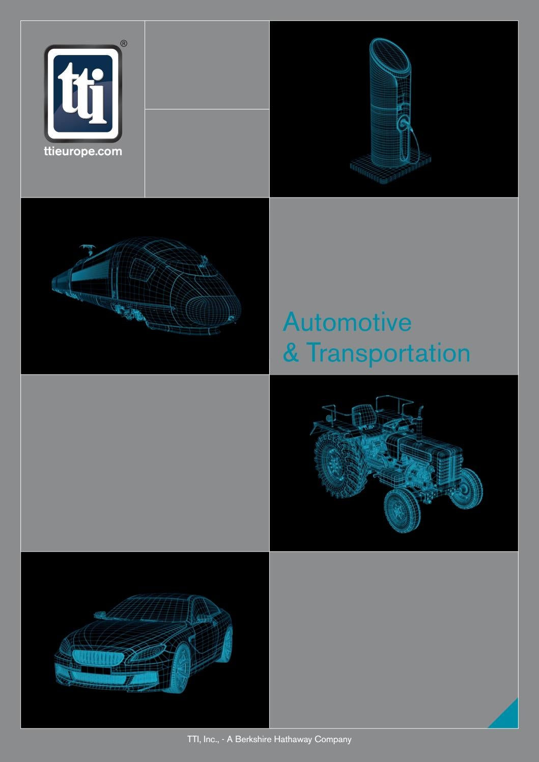 Tti Automotive Tranportation Brochure By Inc Issuu Pin Image Pinout For Connector Diagrams Monitor Atx Dvi Transistor On