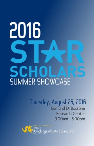 2016 STAR Summer Showcase Program by Erica Levi Zelinger - issuu