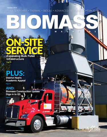 2016 October Biomass Magazine by BBI International - issuu