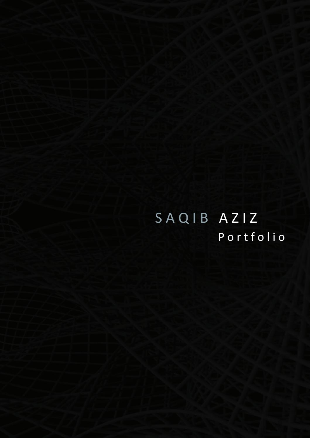 Saqib Aziz Portfolio by Saqib Aziz - issuu