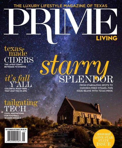 PRIME Livingu0027s 2016 Lone Star State Issue