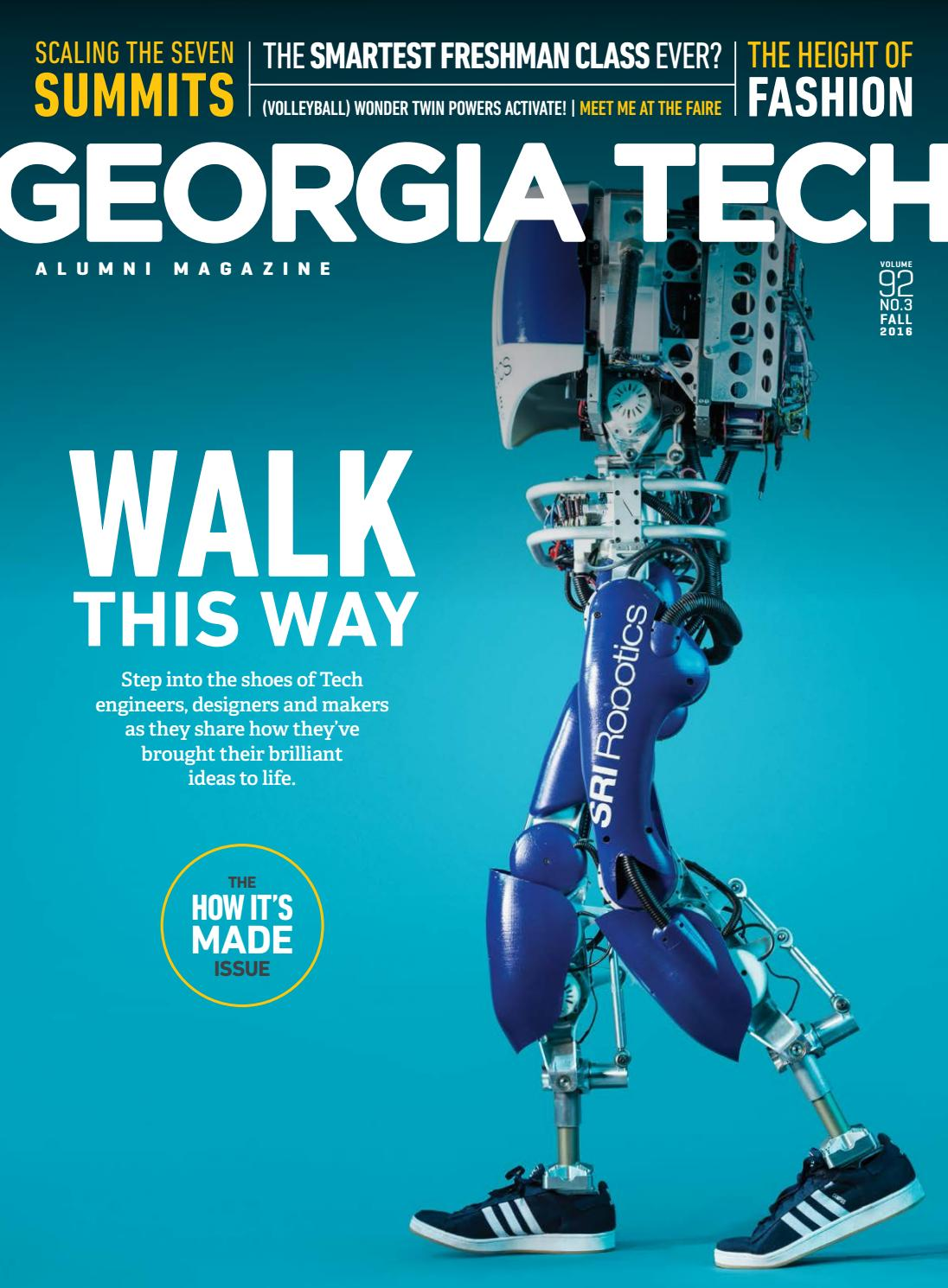 Georgia Tech Alumni Magazine Vol 92 No 3 Fall 2016 By Simple Circuit Board For Kids Wall Of Machines Ceeo Makerspace Association Issuu
