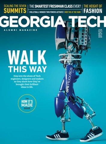 half off 5c007 531c0 Georgia Tech Alumni Magazine, Vol. 92, No. 3, Fall 2016 by Georgia ...
