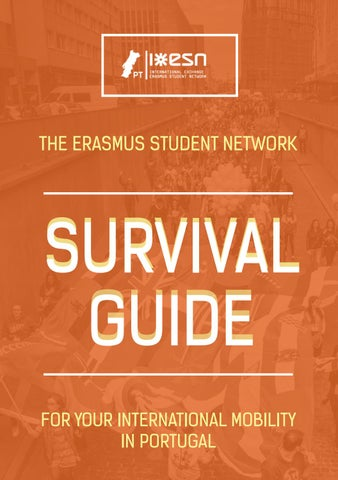 9cac26a143868 Survival Guide 2016 by ESN Portugal by ESN Portugal - issuu
