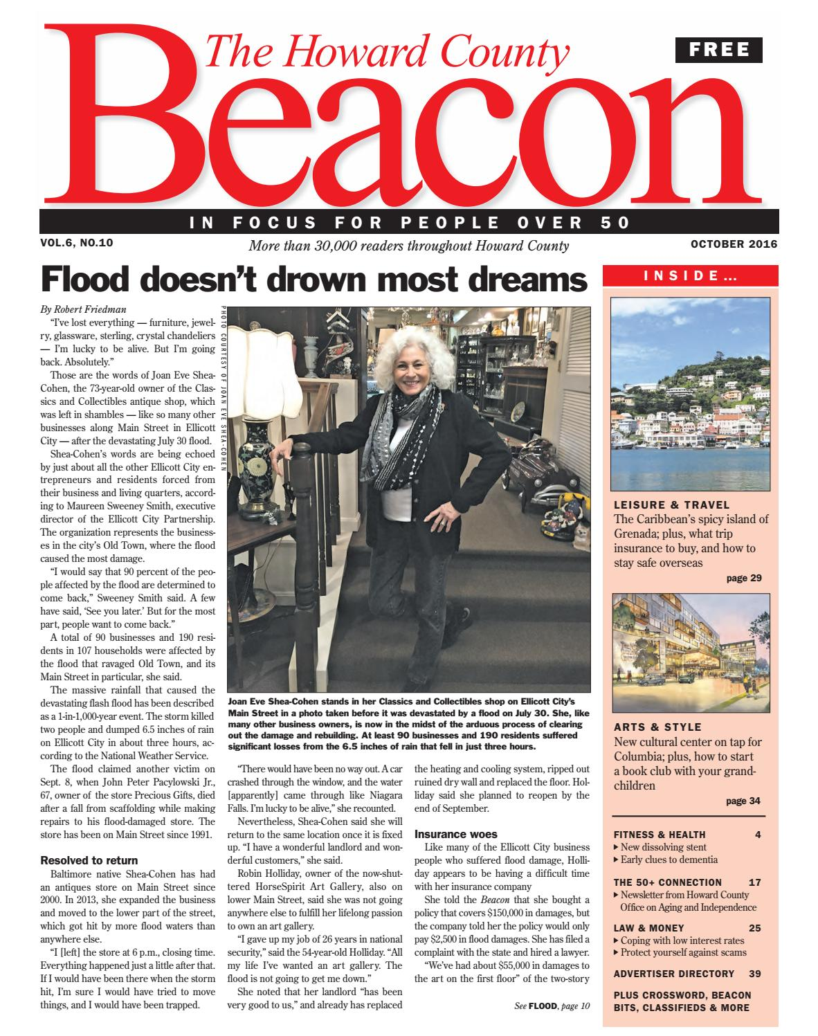October 2016 | Howard County Beacon by The Beacon Newspapers - issuu