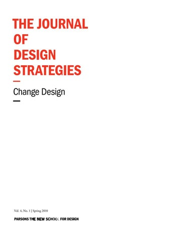 c79aa4cfd24f The Journal of Design Strategies Volume 4 by The Journal of Design ...