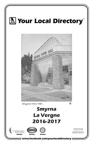 Smyrna La Vergne 2016 2017 By Your Local Directory
