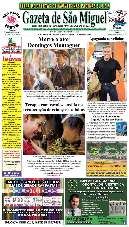 Gazeta de São Miguel edição 1434 - 17.09.16 by São Paulo Leste - issuu 2f2df475b0