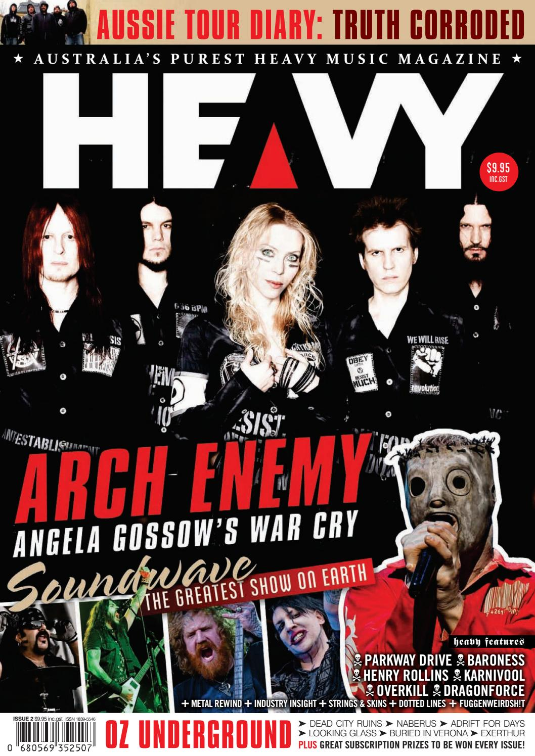 Heavy Music Magazine Issue 2 By Issuu Computer Geek Circuit Board Green Magnetic Picture Frame Zazzle