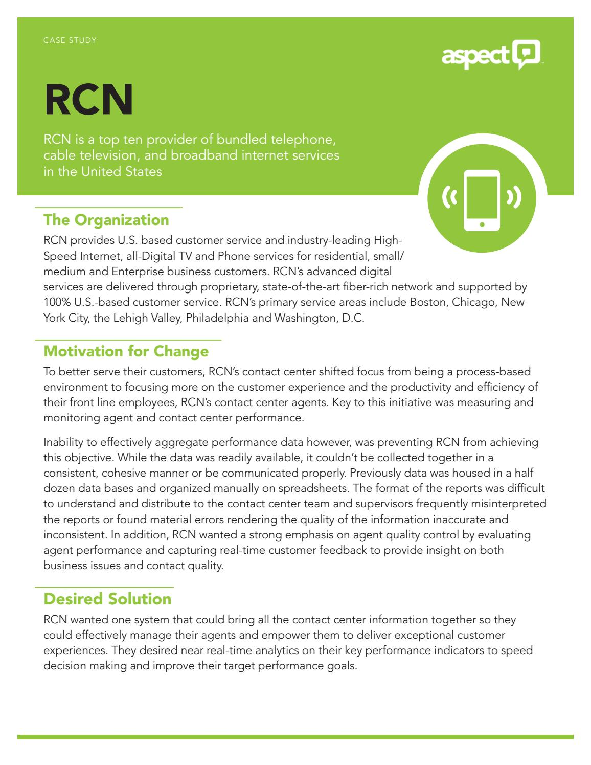 Landline Phone Service >> Rcn Cable Services For Satisfying Experience Of Internet