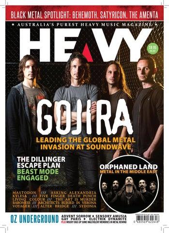 Heavy music magazine issue 9 by heavy music magazine issuu page 1 malvernweather Choice Image