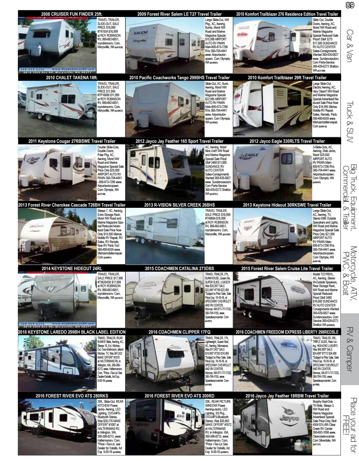 Jayco Travel Trailer Parts >> Road And Marine Digital Magazine Vol 16 37 By Road Marine