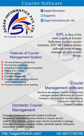 Courier Software by sagarinfotech - issuu