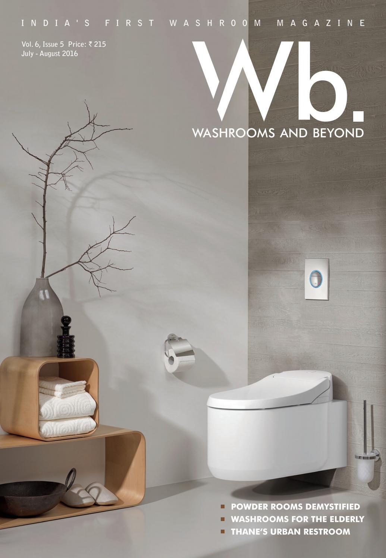 2016 August Washroom Beyond Powder Room By Architect