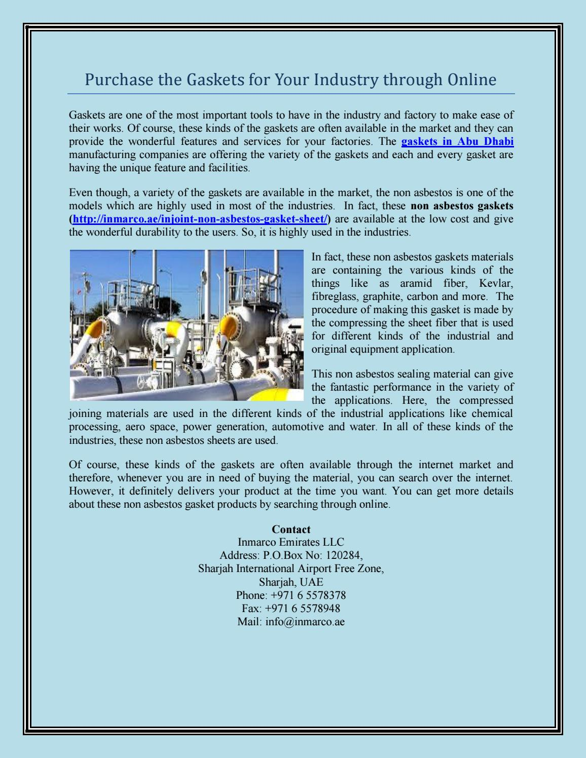 Chemical Companies In Sharjah