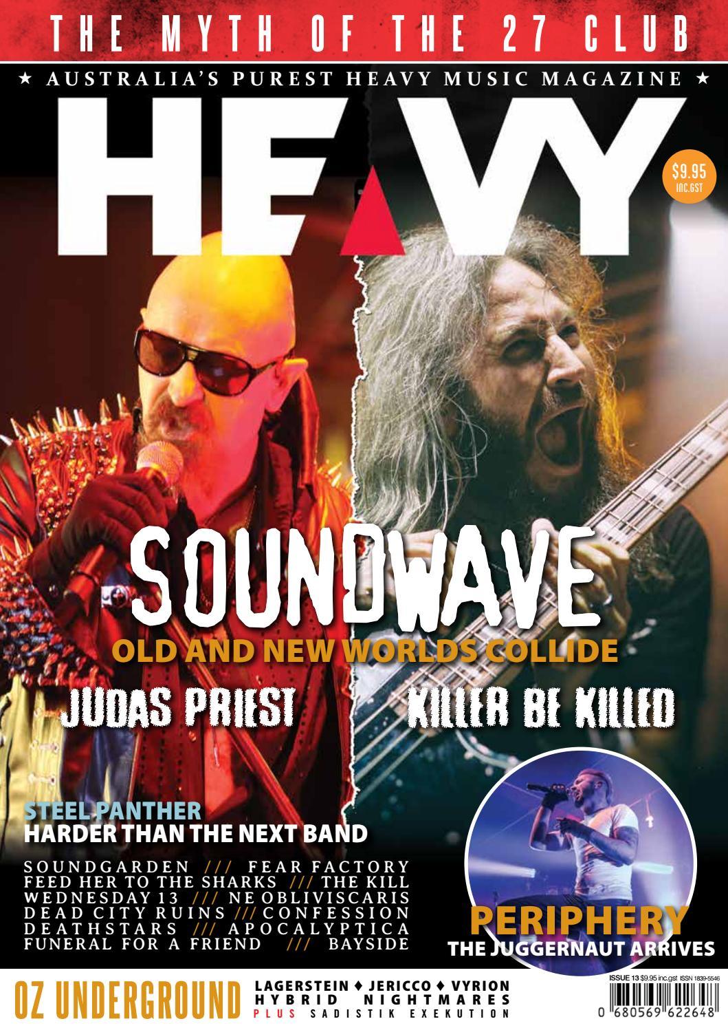d752f642744 Heavy Music Magazine Issue #13 by HEAVY Music Magazine - issuu