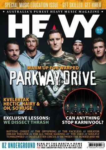 Heavy Music Magazine Issue  8 by HEAVY Music Magazine - issuu 2b14b530b