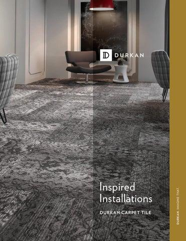 Durkan Carpet Tile book