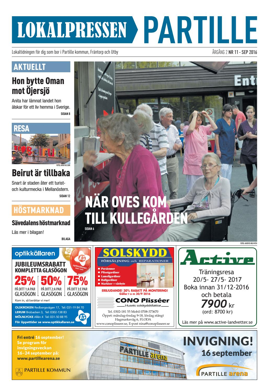 Maria sprider norrlndskt lugn p stationen i jersj - Partillebo