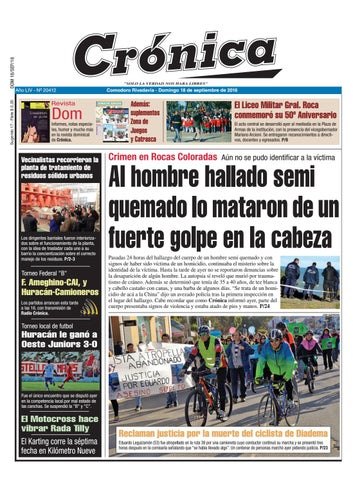 15fa20191 F0263133efa297830a65a115e3b00556 by Diario Crónica - issuu