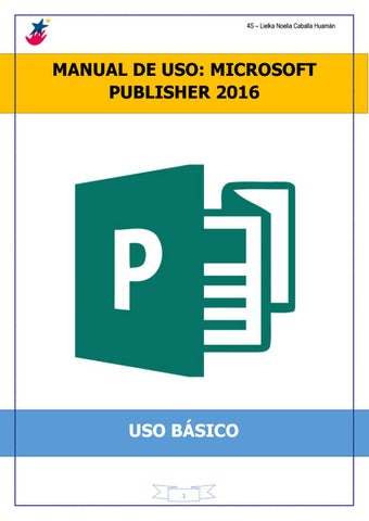 Publisher Quick Start Guide - Publisher