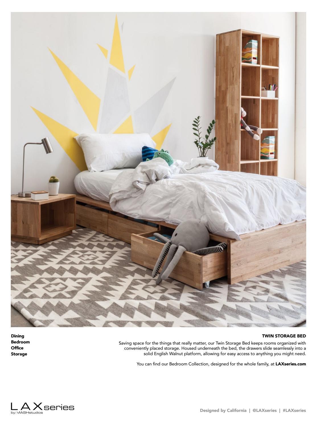Lax Series Platform Bed c california stylec magazine - issuu