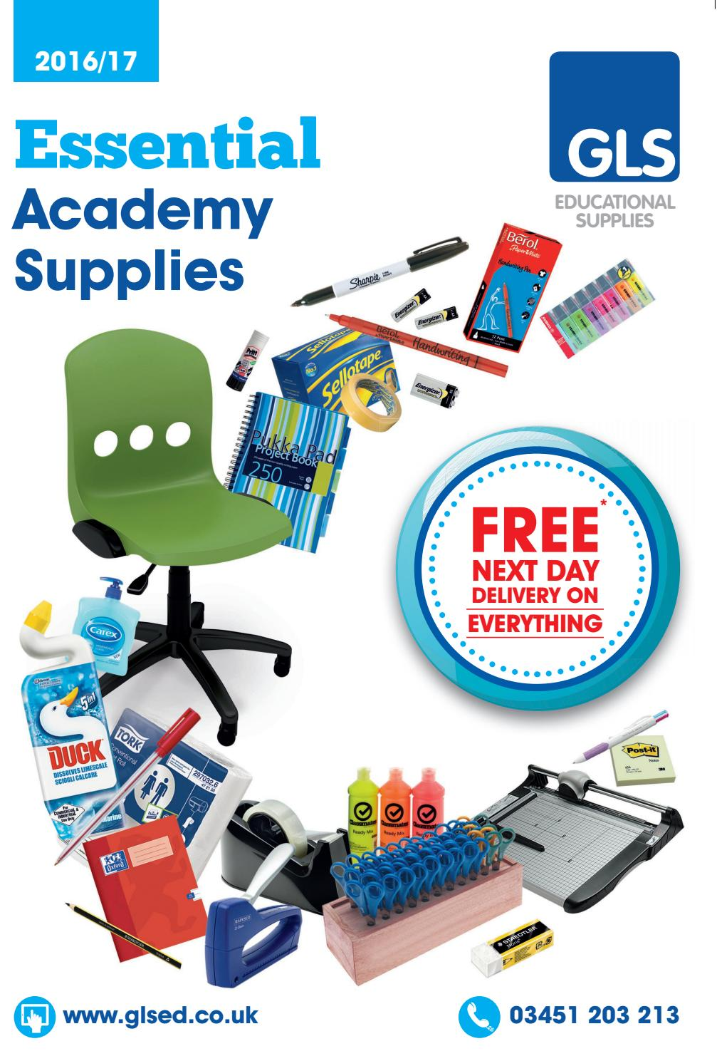 Gls Essential Academy Supplies By