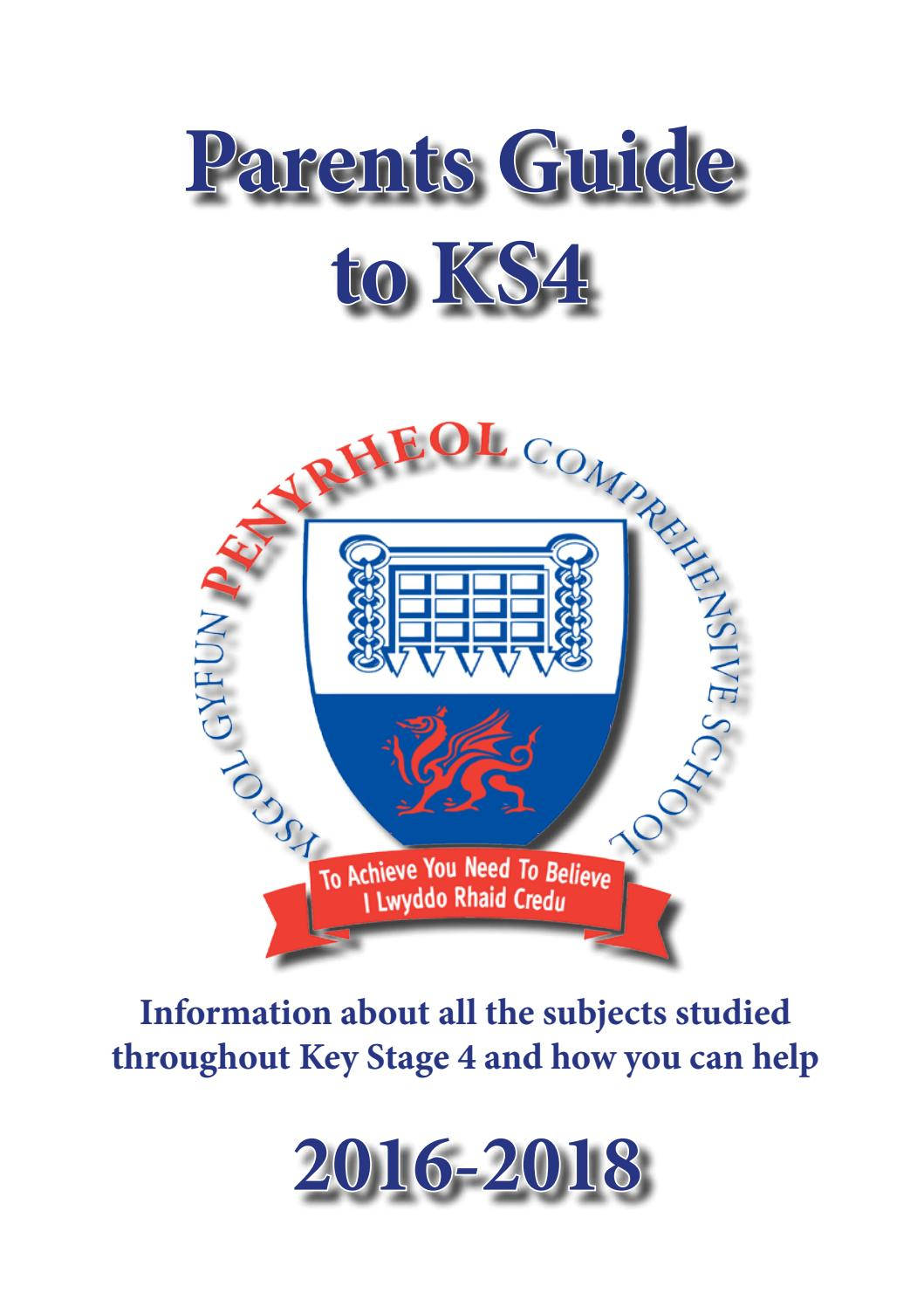 Ks4 Parental Guide By Penyrheol Comprehensive School Issuu Grade Bitesize Physics Generation Of Electricity Revision Page 3