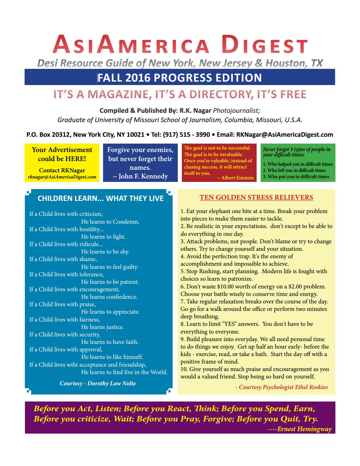Asiamerica Digest Fall 2016 Edition September by AsiAmerica Digest ...