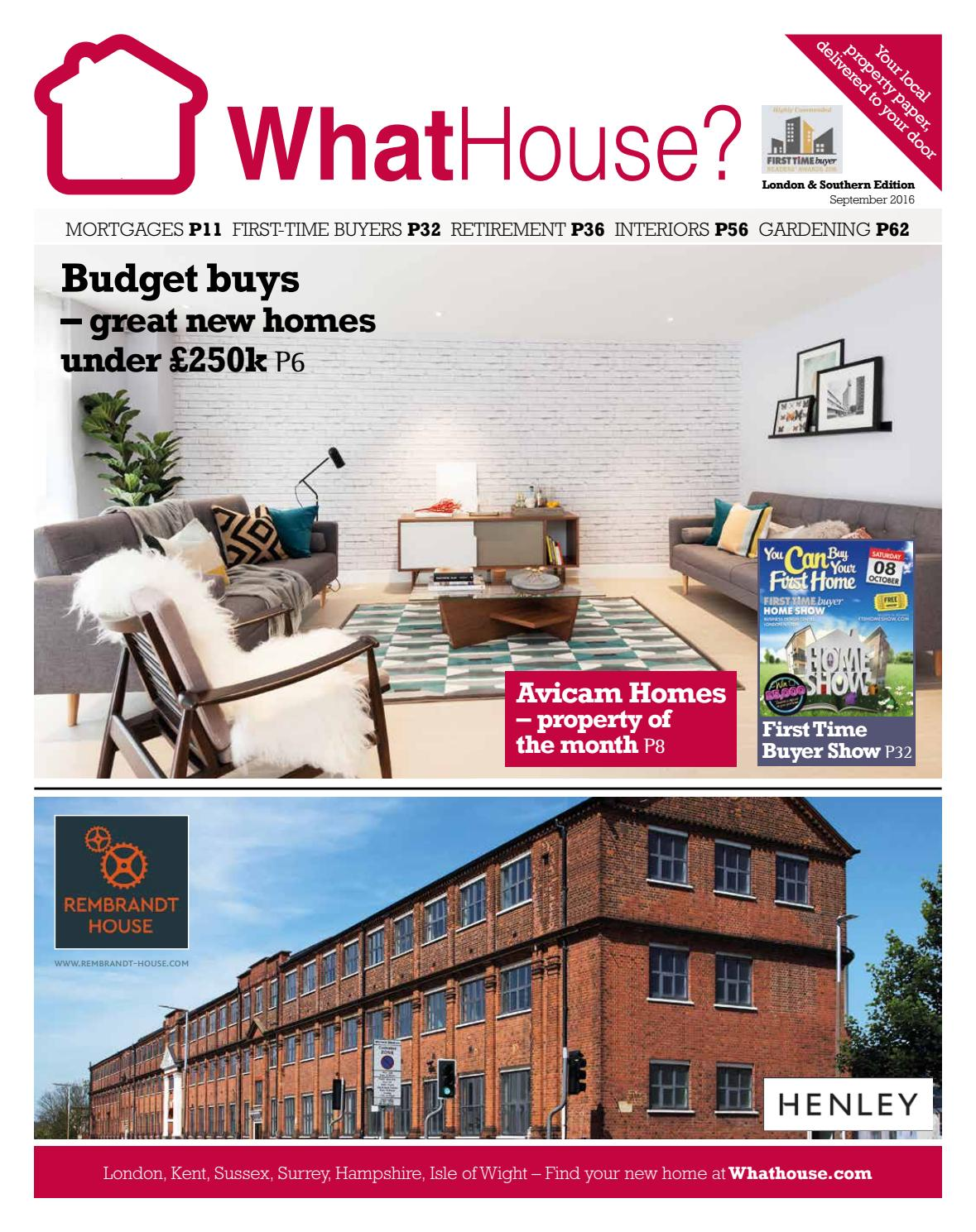 WhatHouse? Southern September 2016 By WhatHouse? Local