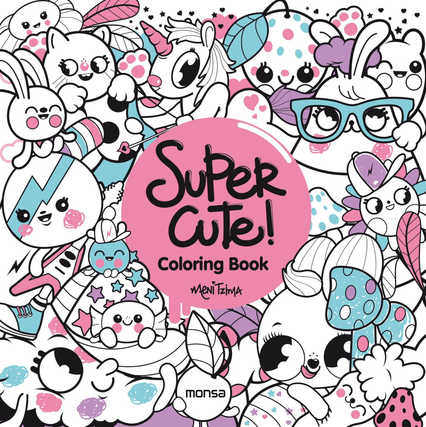 Super Cute Coloring Book By Monsa Publications Issuu