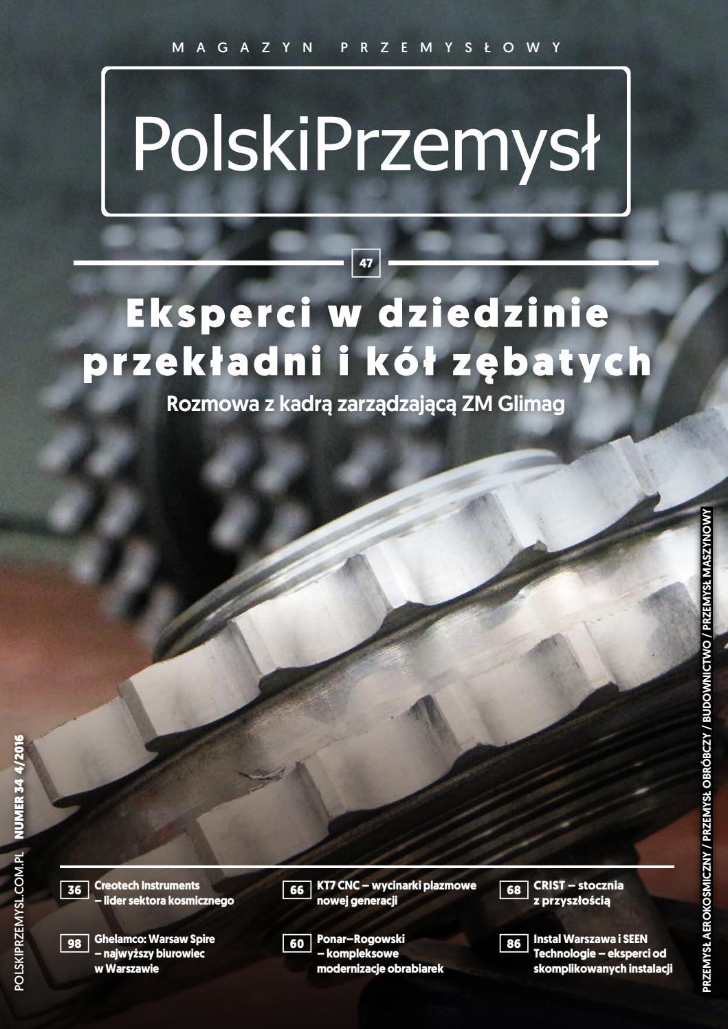 1a25bb43c4c2c Polski Przemysł 34 04 2016 by AF Media - issuu