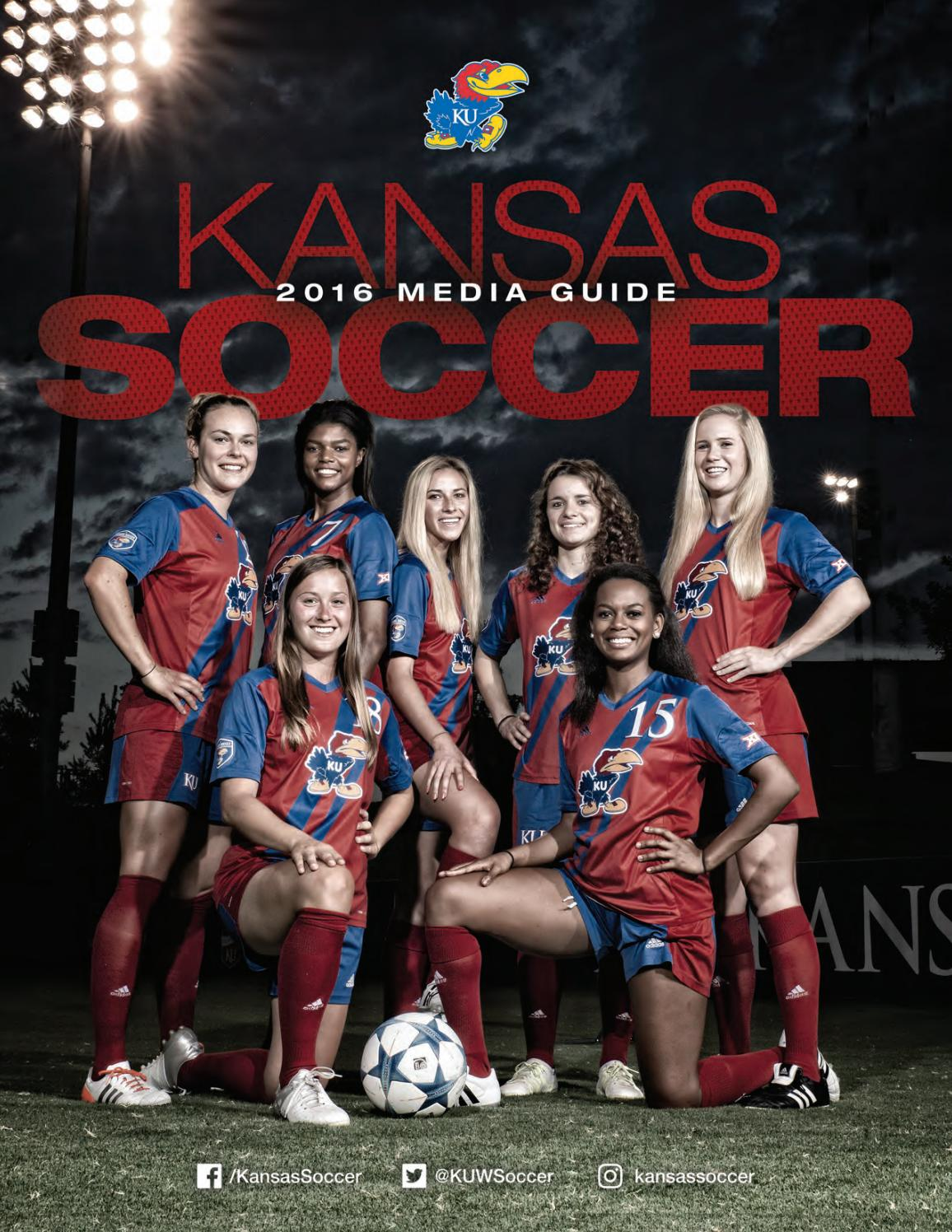 dc2afe47b0e 2016 Kansas Soccer Media Guide by Kansas Jayhawks - issuu