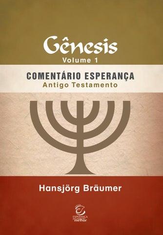 Comentário Esperança Antigo Testamento - Gênesis 272be9e29c2af