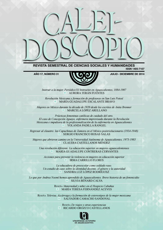 Caleidoscopio 31 by Universidad Autónoma de Aguascalientes ...