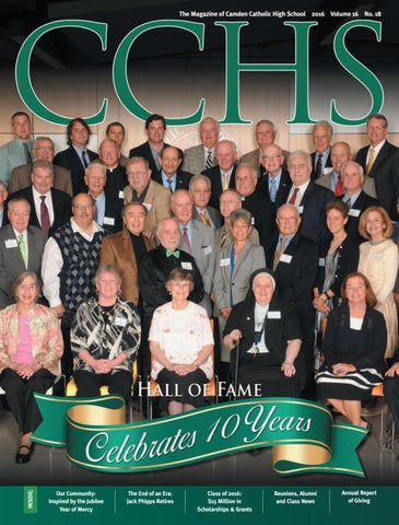 2fed9819cdc CCHS Magazine 2016 by Camden Catholic High School - issuu