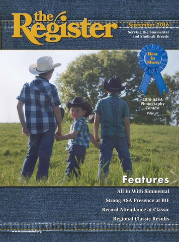 ab0059c4ed the Register September 2016 by American Simmental Publication, Inc ...