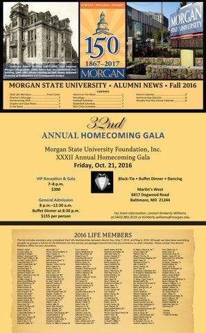 Alumni News Fall 2016 Issue by Morgan State University - issuu